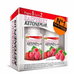 RASPBERRY KETONE PLUS 60CAPS PAGUE 1 LEVE 2