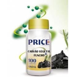 Carvão Vegetal + Funcho Price (100 comp)