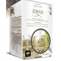 BIOKYGEN ZINCO 25MG 2 embalagens de 60Cáps