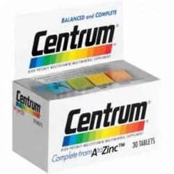 CENTRUM C/ LUTEÍNA 30 COMPRIMIDOS