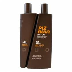 PIZ BUIN IN SUN LOÇÃO DUO FPS10+20 300ML